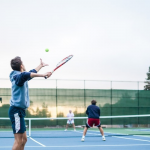 Why do you play tennis on the betting site?